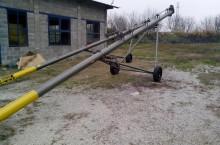 Шнеков зърнотоварач