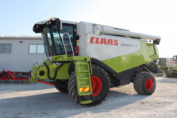 Комбайни Claas Lexion 580 1