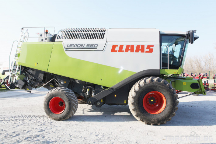 Комбайни Claas Lexion 580 2