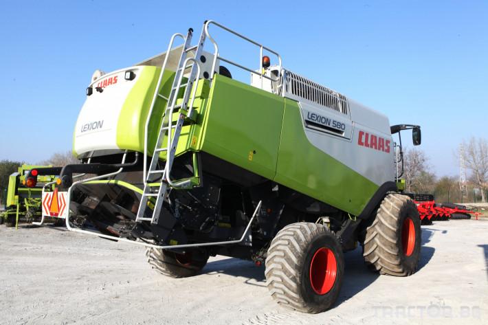 Комбайни Claas Lexion 580 3 - Трактор БГ