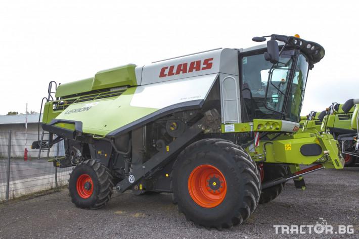 Комбайни Claas Lexion 740 1