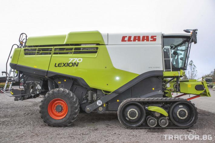 Комбайни Claas Lexion 770 TT 2 - Трактор БГ