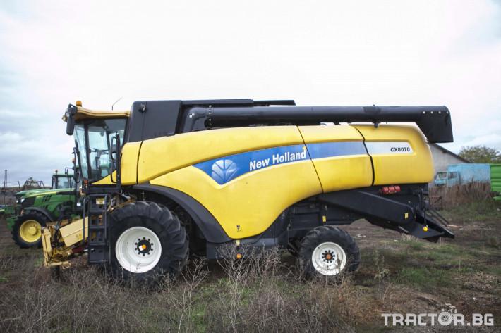 Комбайни New-Holland CX 8070 0 - Трактор БГ