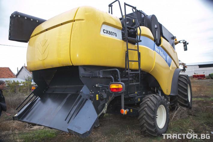 Комбайни New-Holland CX 8070 1 - Трактор БГ
