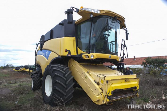 Комбайни New-Holland CX 8070 7 - Трактор БГ