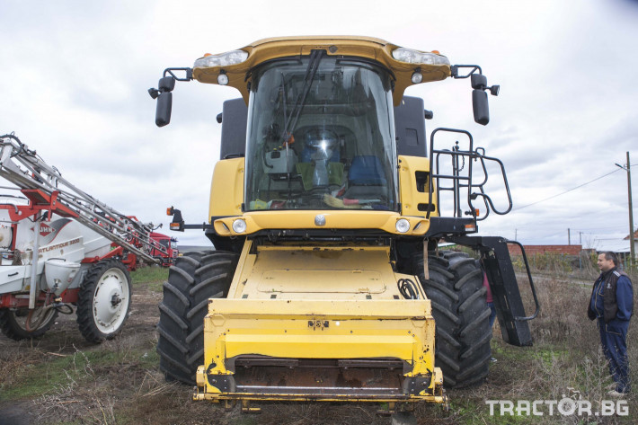 Комбайни New-Holland CX 8070 10 - Трактор БГ