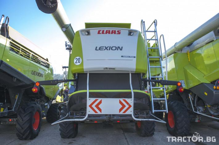 Комбайни Claas Lexion 760 TT 3