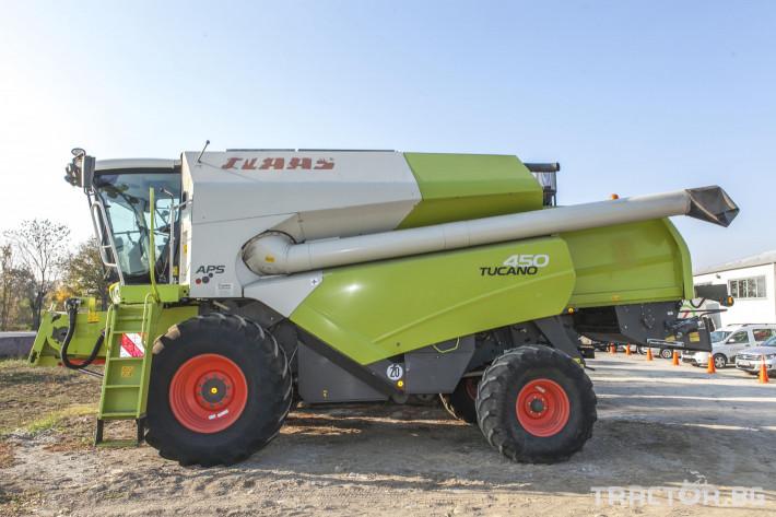Комбайни Claas Tucano 450 0 - Трактор БГ