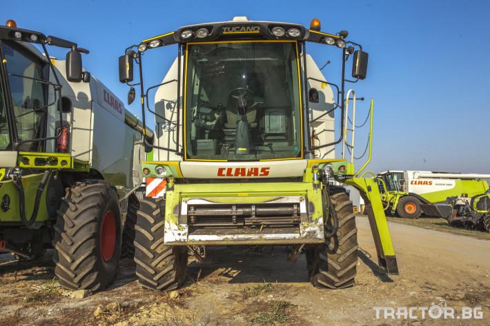 Комбайни Claas Tucano 450 2 - Трактор БГ