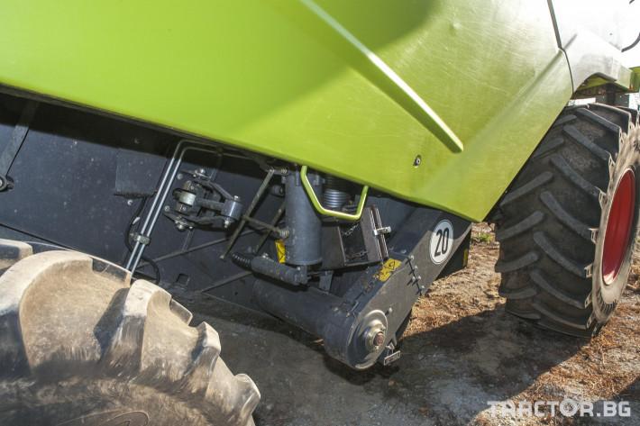 Комбайни Claas Tucano 450 5 - Трактор БГ