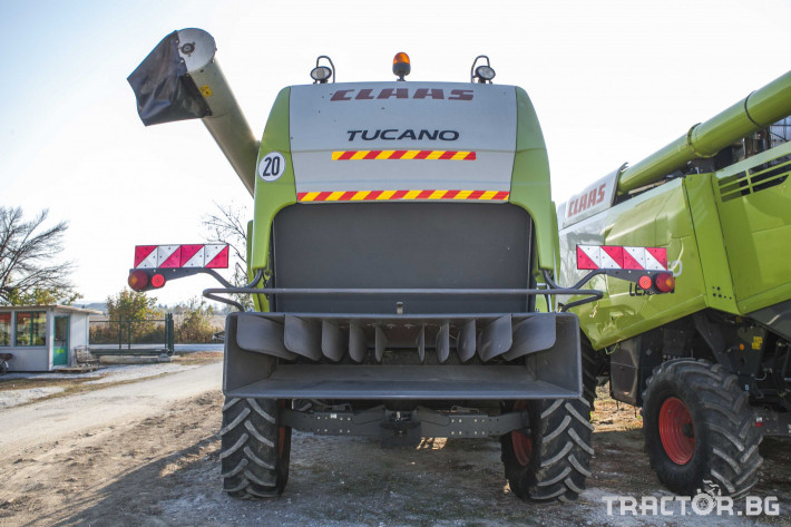 Комбайни Claas Tucano 450 11 - Трактор БГ