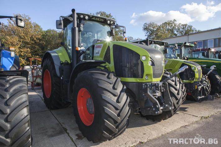 Трактори Claas Axion 920 C Matic 0 - Трактор БГ