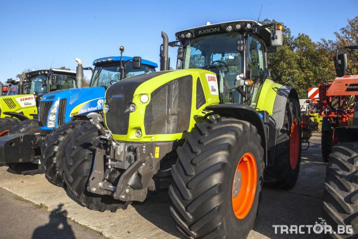 Трактори Claas Axion 920 C Matic 2 - Трактор БГ