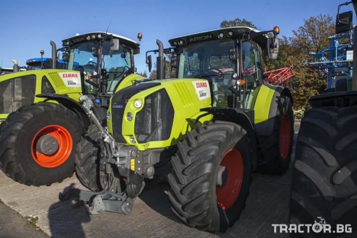 Трактори Claas Arion 650 Cebis 2