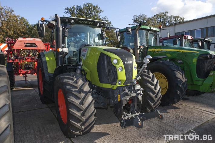 Трактори Claas Arion 650 Cebis 3