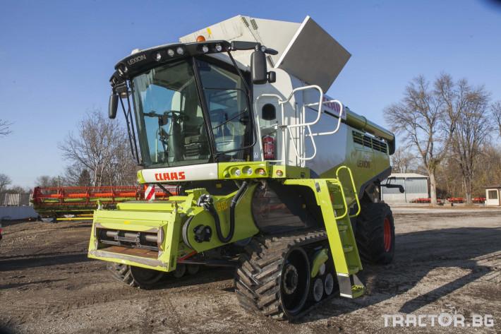 Комбайни Claas 780 Terra Trac 3 - Трактор БГ