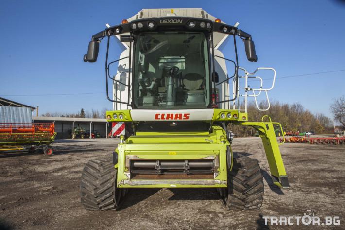 Комбайни Claas 780 Terra Trac 4 - Трактор БГ