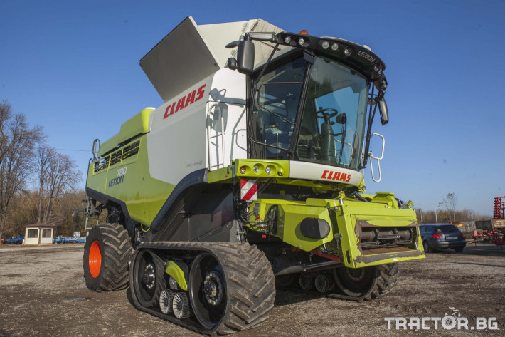 Комбайни Claas 780 Terra Trac 0 - Трактор БГ