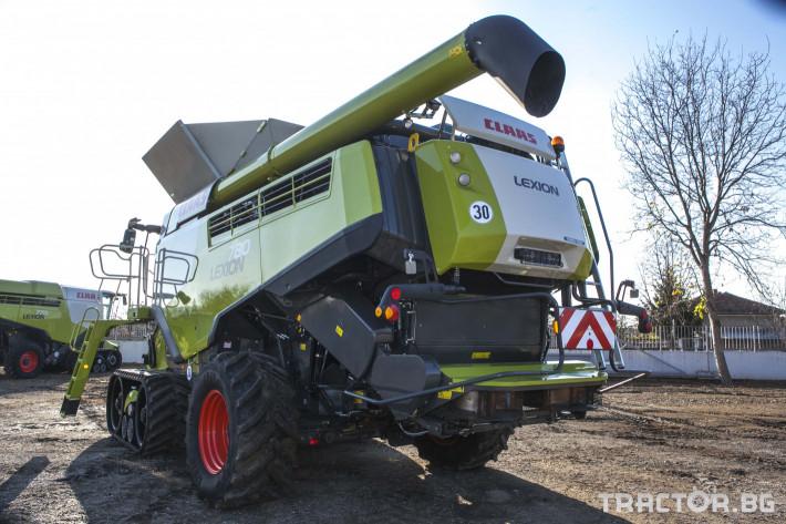 Комбайни Claas 780 Terra Trac 1 - Трактор БГ