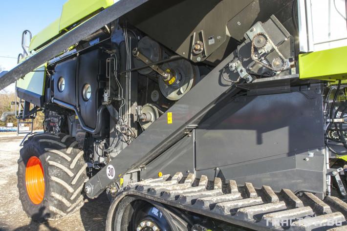 Комбайни Claas 780 Terra Trac 16 - Трактор БГ