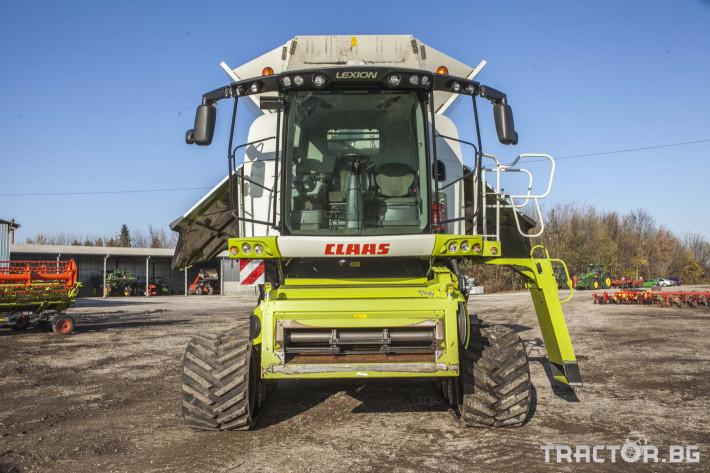 Комбайни Claas 780 Terra Trac 2 - Трактор БГ
