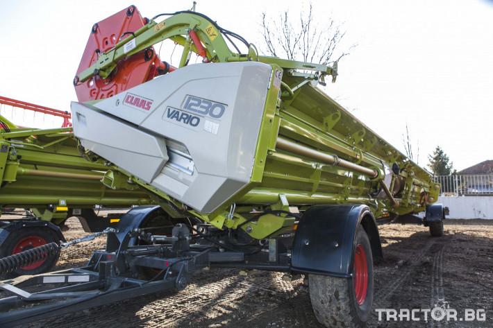 Комбайни Claas 780 Terra Trac 33 - Трактор БГ