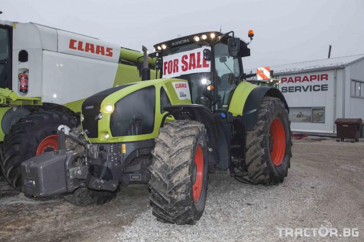 Трактори Claas Axion 950 20 - Трактор БГ