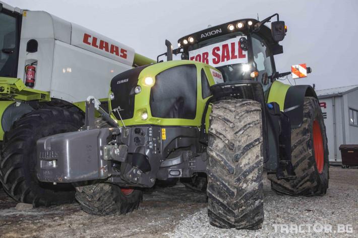 Трактори Claas Axion 950 21 - Трактор БГ