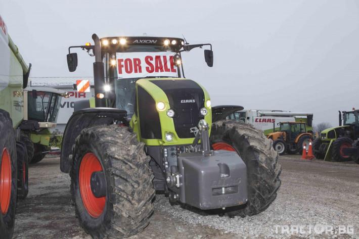 Трактори Claas Axion 950 22 - Трактор БГ
