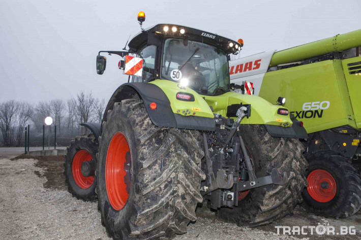 Трактори Claas Axion 950 28 - Трактор БГ