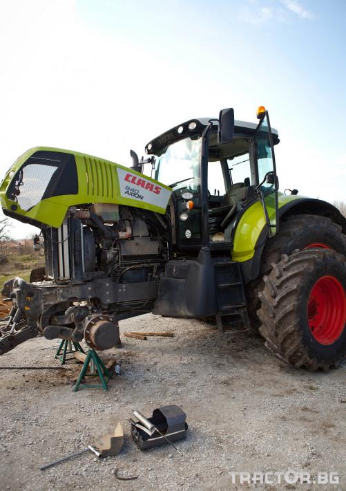 Сервиз на трактори Сервизно обслужване и ремонт на трактори и комбайни CLAAS 2 - Трактор БГ