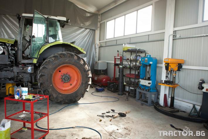Сервиз на трактори Сервизно обслужване и ремонт на трактори и комбайни CLAAS 4 - Трактор БГ