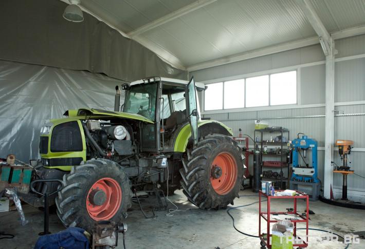 Сервиз на трактори Сервизно обслужване и ремонт на трактори и комбайни CLAAS 5 - Трактор БГ