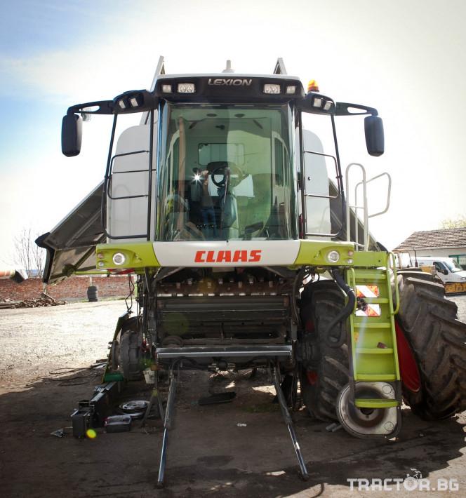 Сервиз на трактори Сервизно обслужване и ремонт на трактори и комбайни CLAAS 7 - Трактор БГ