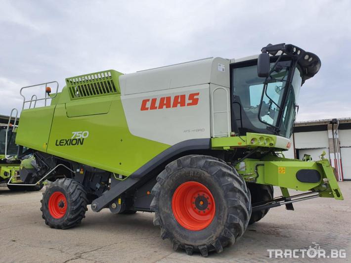 Комбайни Claas Lexion 750 2 - Трактор БГ