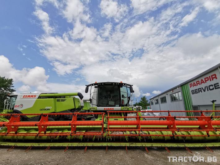 Комбайни Claas Lexion 770 Terra Trac 1 - Трактор БГ