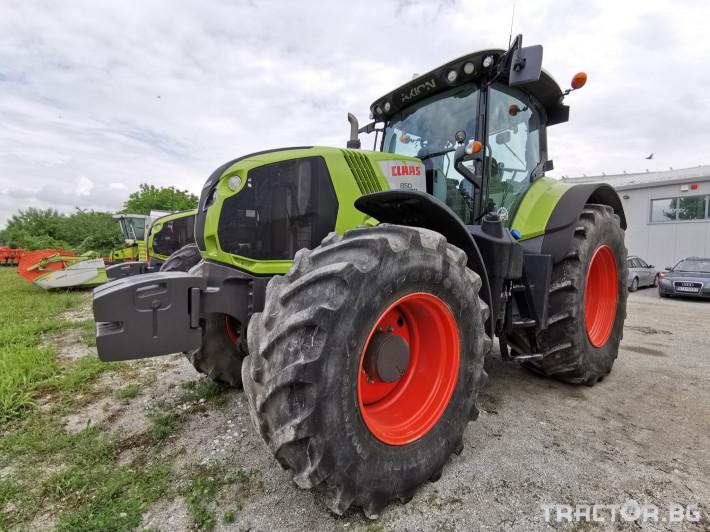 Трактори Claas Axion 850 Cis 1 - Трактор БГ