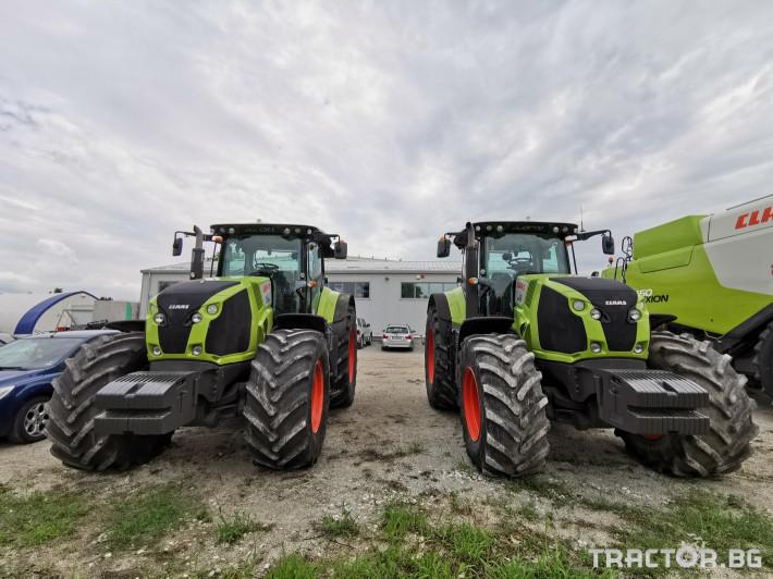 Трактори Claas Axion 850 Cis 7 - Трактор БГ