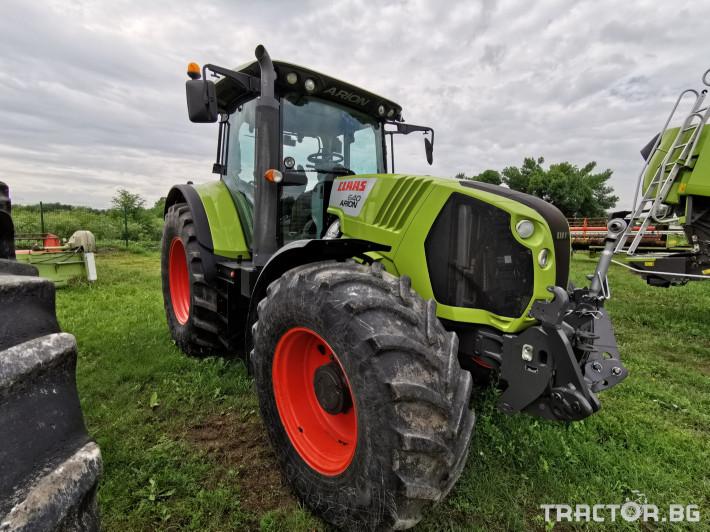 Трактори Claas Arion 640 Cebis 0 - Трактор БГ
