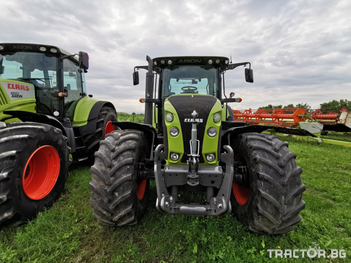 Трактори Claas Arion 640 Cebis 10 - Трактор БГ