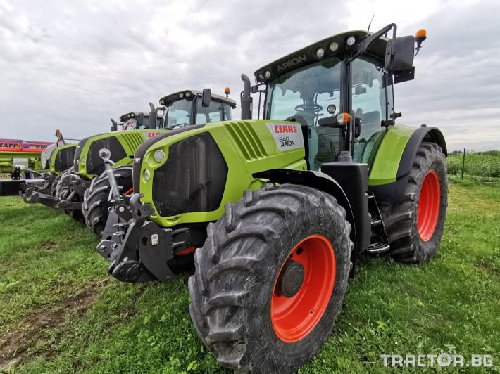 Трактори Claas Arion 640 Cebis 15 - Трактор БГ