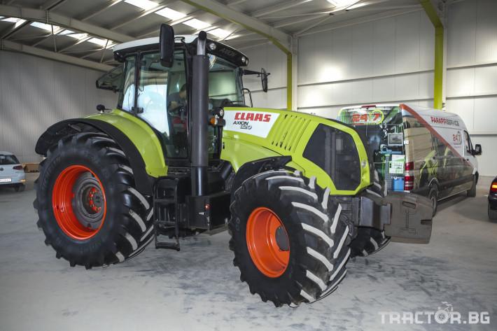 Трактори Claas Axion 820 0 - Трактор БГ