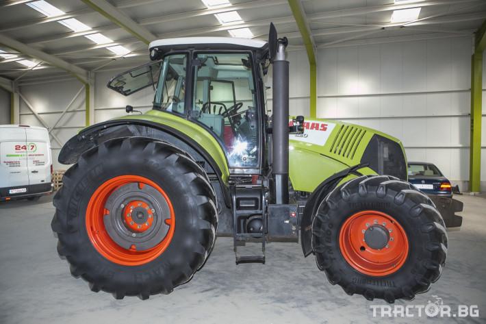 Трактори Claas Axion 820 1 - Трактор БГ