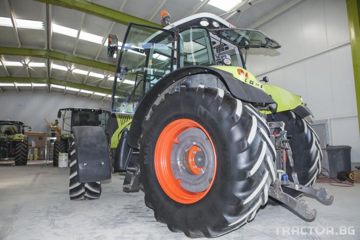 Трактори Claas Axion 820 4 - Трактор БГ