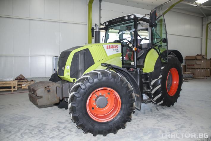 Трактори Claas Axion 820 5 - Трактор БГ