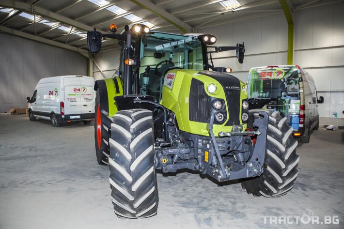 Трактори Claas Arion 460 1 - Трактор БГ
