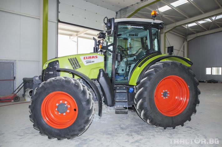 Трактори Claas Arion 460 7 - Трактор БГ