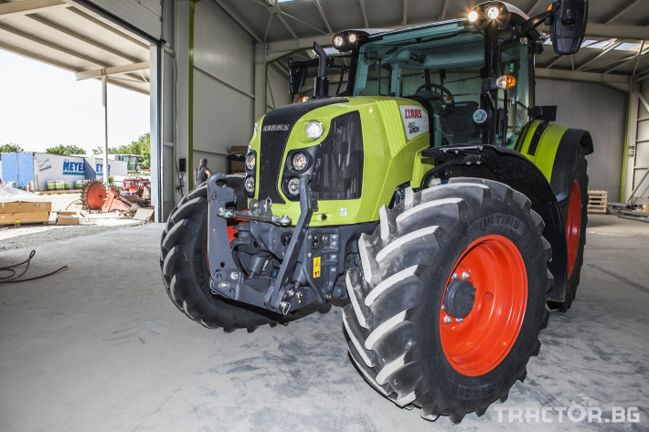 Трактори Claas Arion 460 8 - Трактор БГ