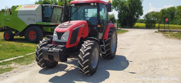 Трактори Zetor Proxima 120 3 - Трактор БГ