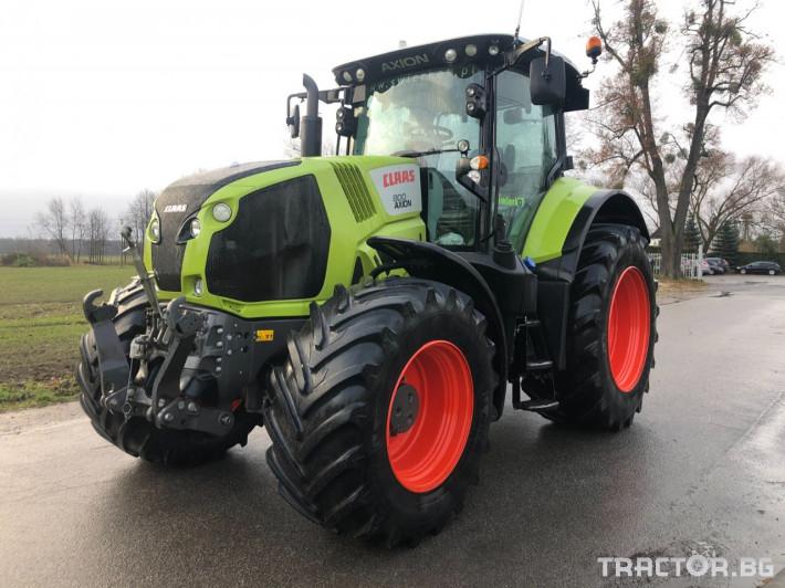 Трактори Claas Axion 800 Cis 0 - Трактор БГ